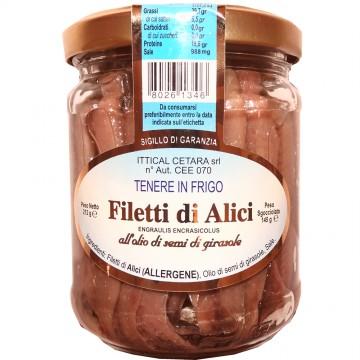 Filetti di Alici all'Olio...